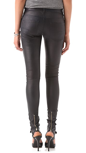 The Eternal Leather Banded Pants