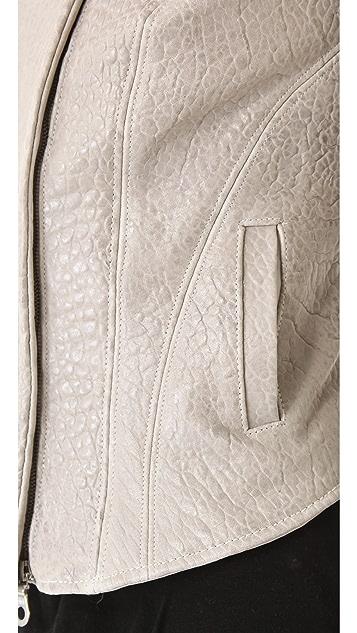 The Eternal Leather Biker Jacket