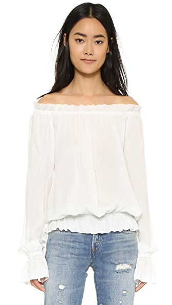 Emerson Thorpe Faye Off Shoulder Blouse