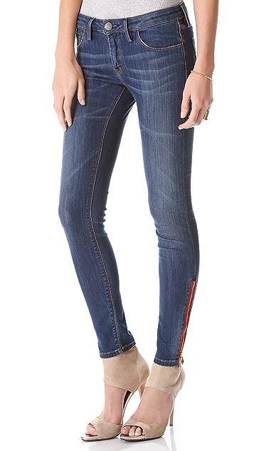 Etienne Marcel Side Zip Skinny Jeans