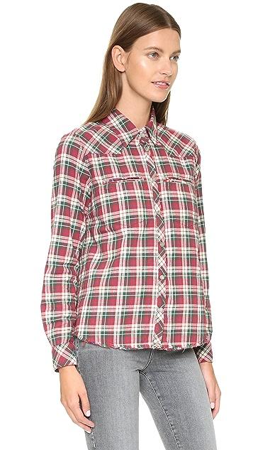 Etienne Marcel Plaid Shirt