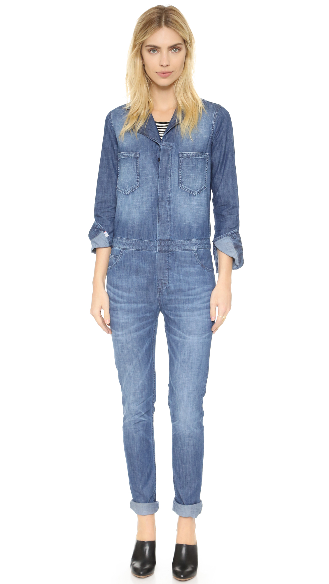 679410381eb Etienne Marcel Denim Jumpsuit on PopScreen