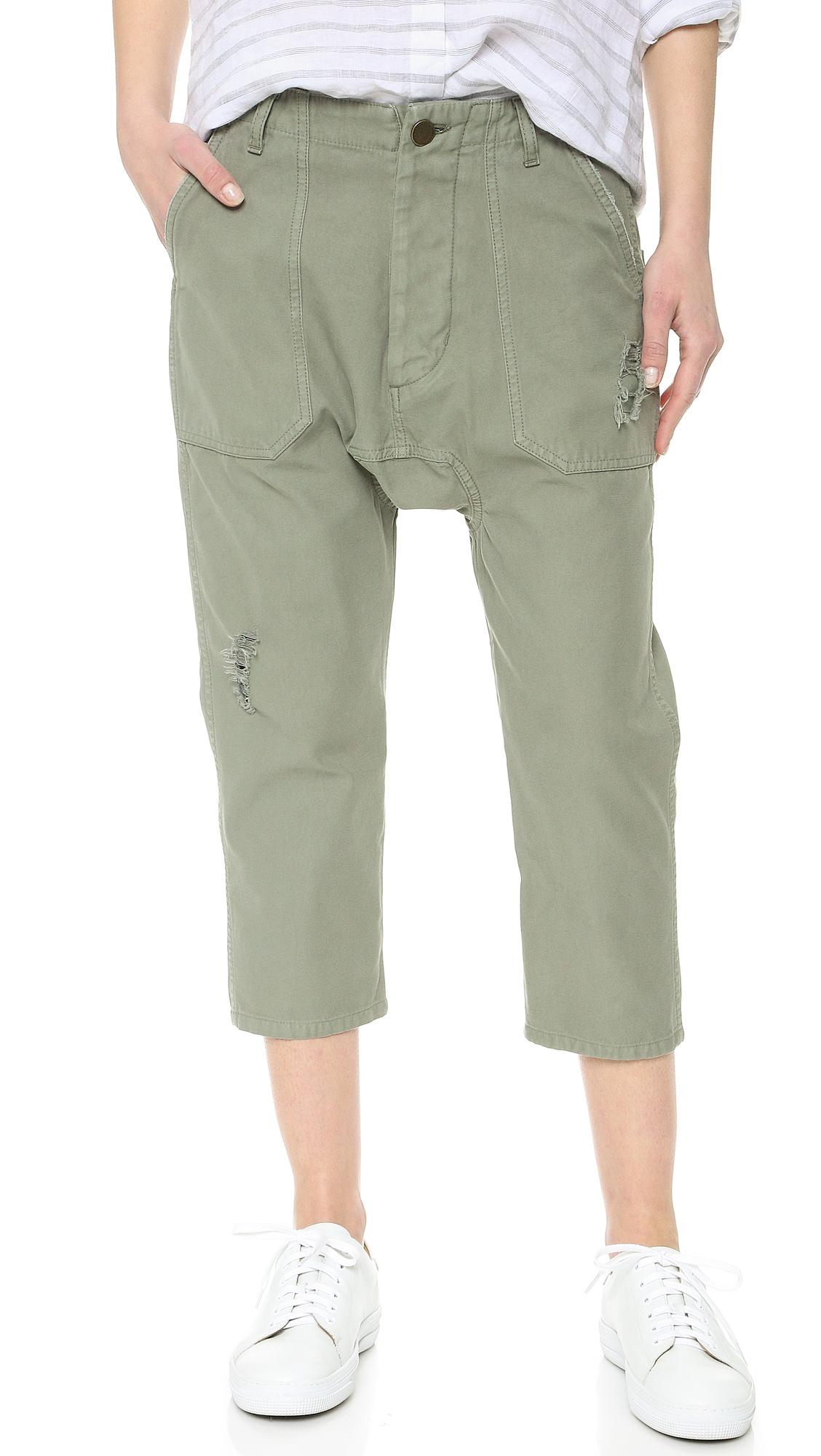 Etienne Marcel Slouchy Military Pants