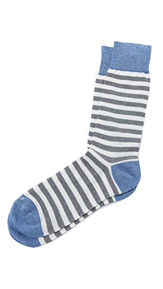 Etiquette Abbey Stripes Mid-Calf Socks