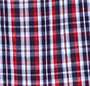 Mini Tartan Plaid Blue/Red