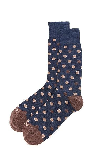 Etiquette Mix Polka Dot Socks