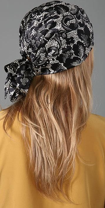 Eugenia Kim Gigi Lace Head Scarf