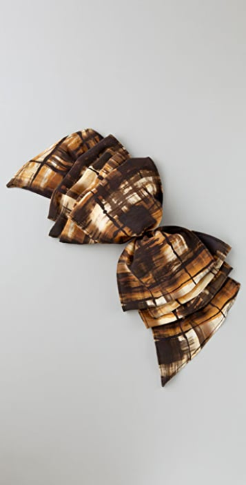 Eugenia Kim Print Kelly Ruffled Barrette