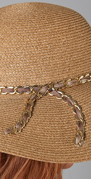 Eugenia Kim Honey Sunhat with Chain
