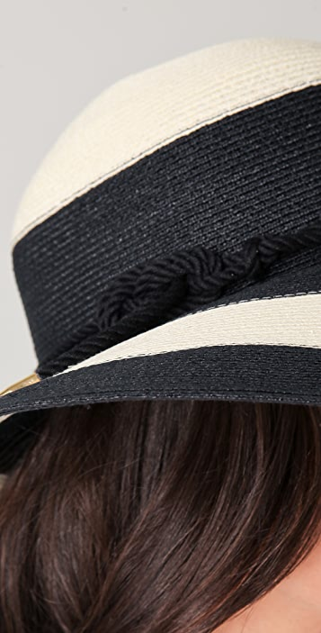 Eugenia Kim Bunny Wide Striped Sunhat