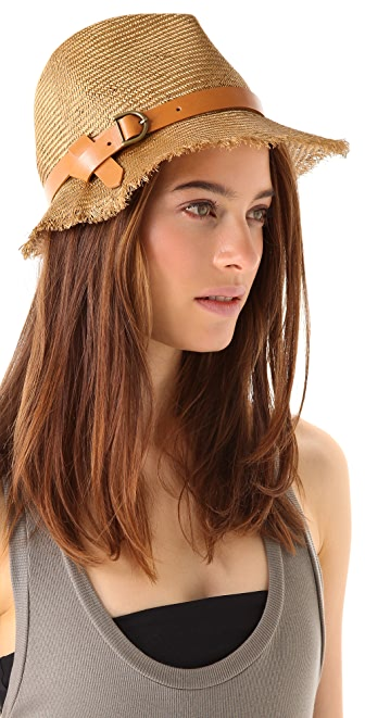 Eugenia Kim Dree Straw Bucket Hat