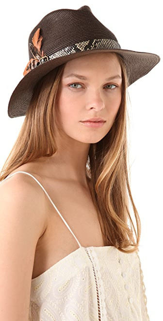 Eugenia Kim Kurt Fedora with Snake Band