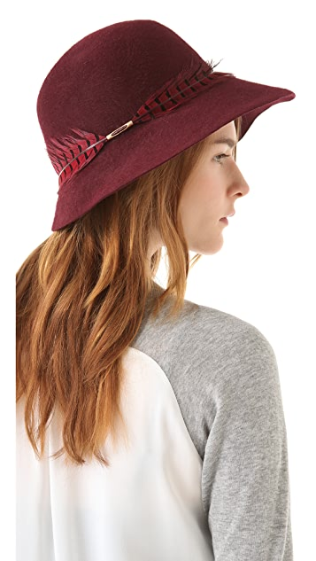 Eugenia Kim Carly Wide Brim Cloche