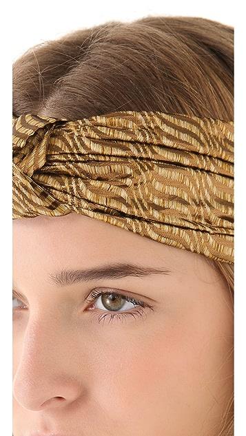 Eugenia Kim Natalia Brocade Turban Knot Headband