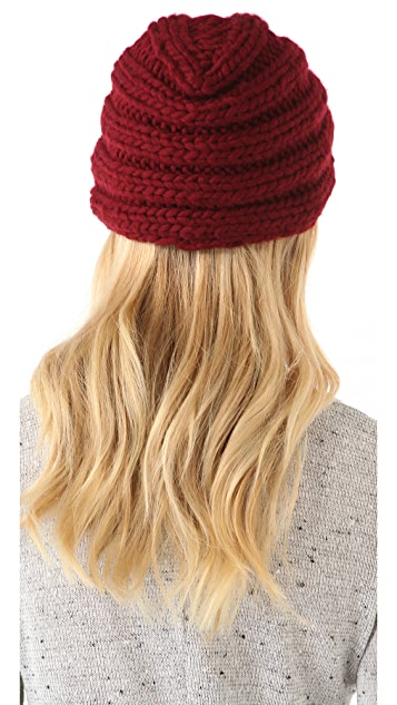 Eugenia Kim Dominique Wool Turban Hat