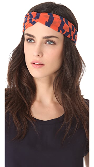 Eugenia Kim Genie by Eugenia Kim Penny Stripe Turban Headband
