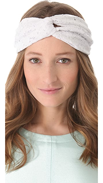 Eugenia Kim Genie by Eugenia Kim Penny Lace Turban Headband