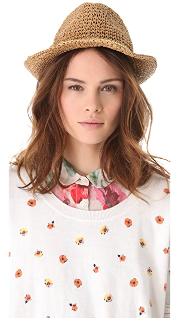 Eugenia Kim Sola Crochet Fedora
