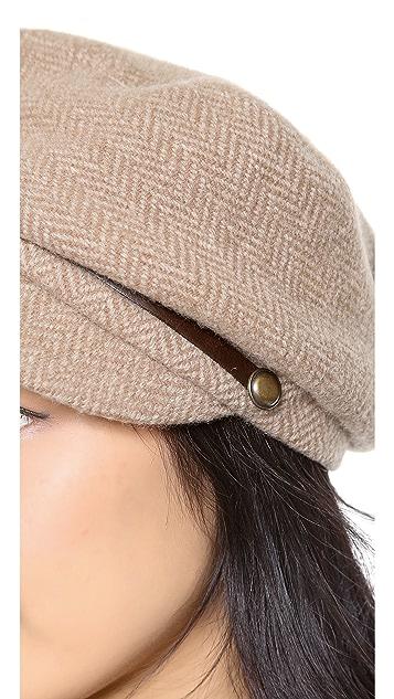 Eugenia Kim Carmella Newsboy Hat
