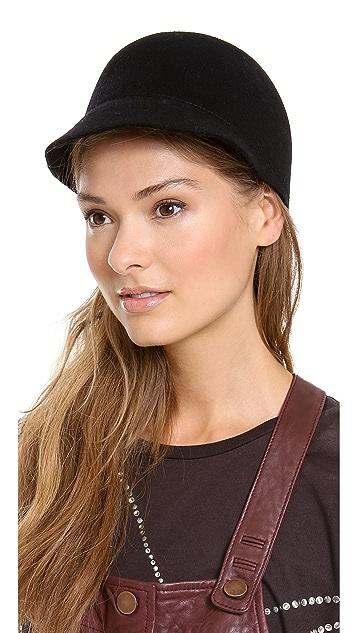 Eugenia Kim Joey Wool Baseball Cap