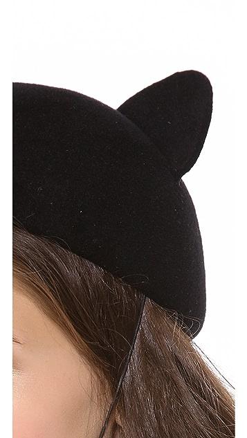 Eugenia Kim Caterina Cat Ear Cap