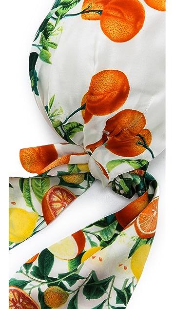 Eugenia Kim Gigi Citrus Headscarf