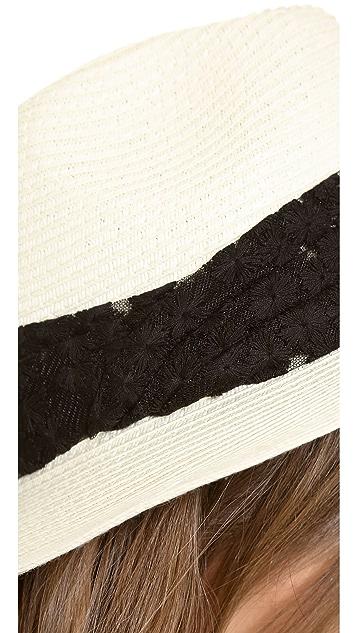 Eugenia Kim Genie Billie Wide Brimmed Straw Fedora
