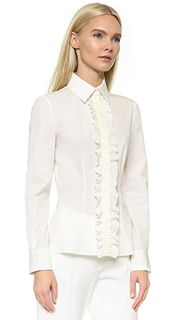 Emanuel Ungaro Long Sleeve Blouse