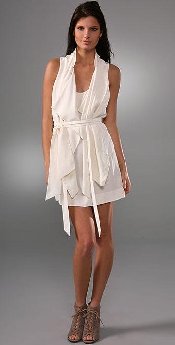 Ever Loveland Draped Layer Dress