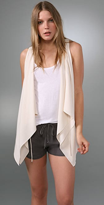 Ever Eros Draped Vest