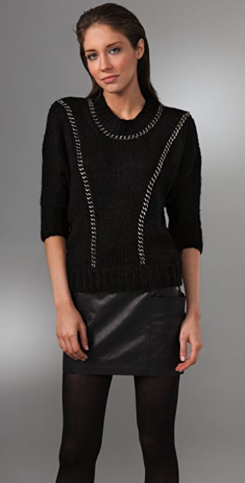 Evil Twin Chain Detail Sweater