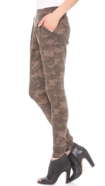 EVLEO Camo Half Baggy Leggings