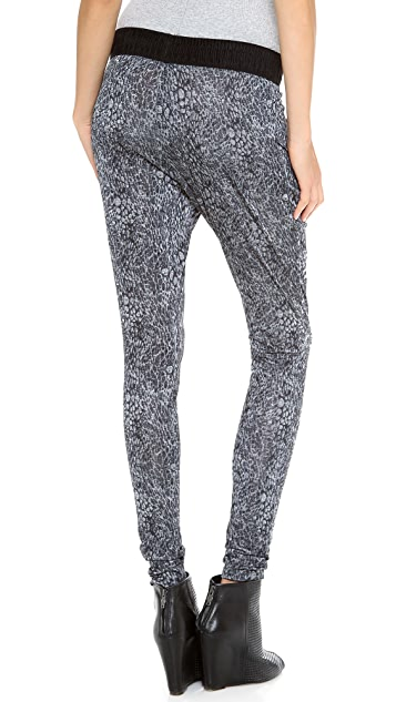 EVLEO Bubble Bubble Baggy Leggings