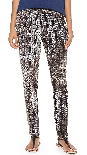 EVLEO Printed Baggy Slim Fit Leggings