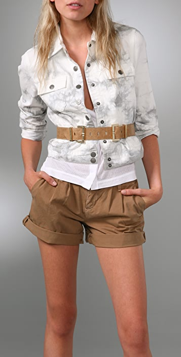 Elegantly Waisted Double Buckle Belt