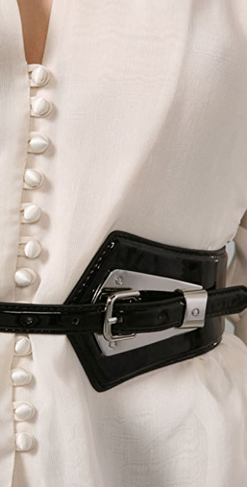 Elegantly Waisted Bowie Belt