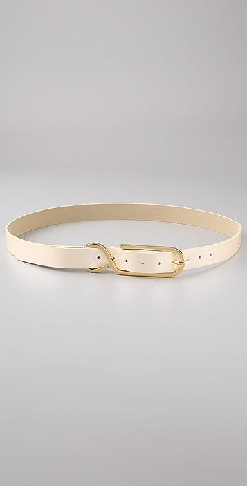 Elegantly Waisted S Buckle Belt