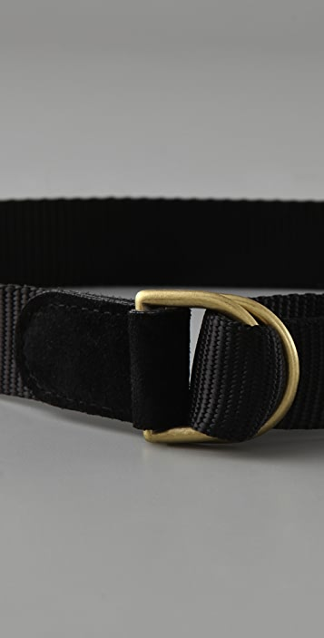 Elegantly Waisted Military Belt