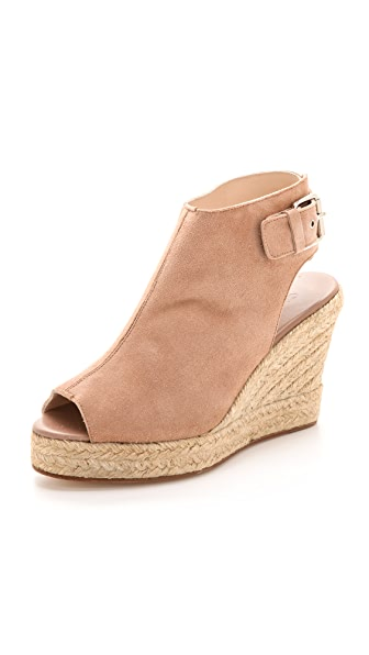elysewalker los angeles Lesley Peep Toe Espadrille Wedges
