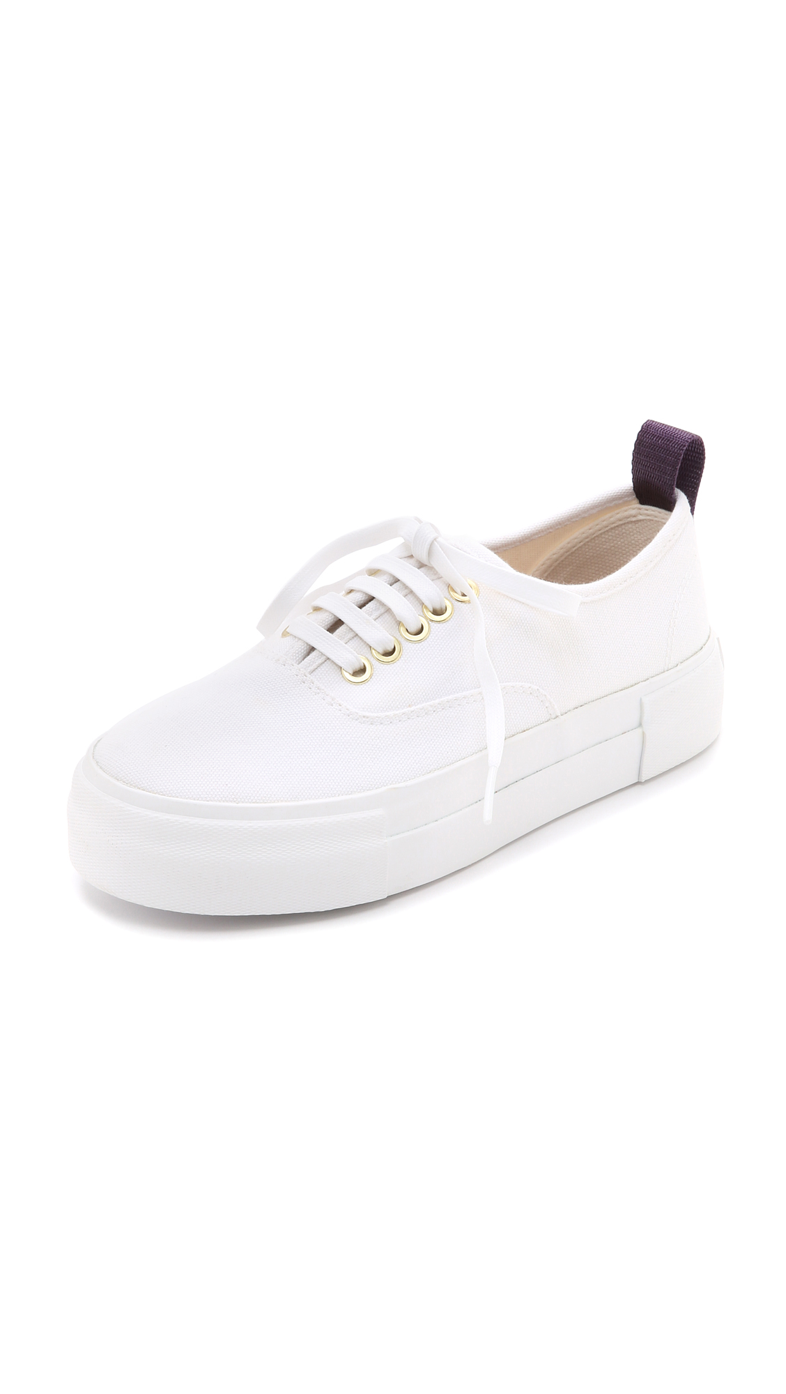 Eytys Mother Canvas Sneakers - White