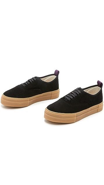 Eytys Mother Suede Sneakers
