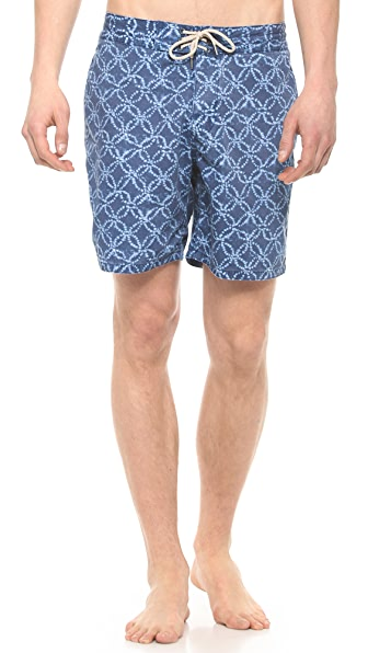 Faherty Moonlight Batik Board Shorts