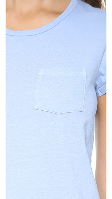 Faherty Pocket Crew Neck T-Shirt