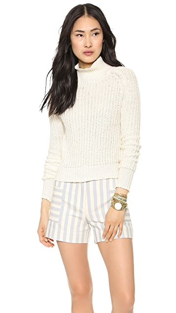 Faherty Cascadia Rib Knit Sweater