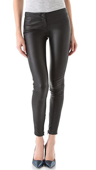 Faith Connexion Leather Skinny Pants
