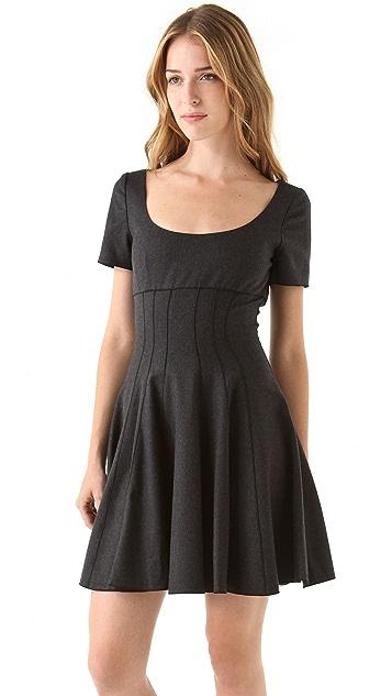 Faith Connexion Empire Pleated Dress