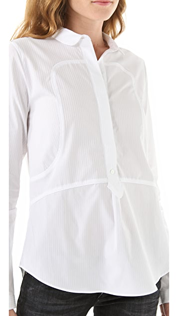 Faith Connexion Poplin Button Down Shirt