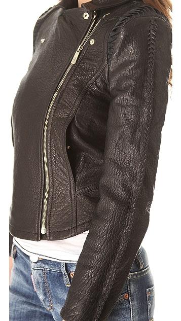 Faith Connexion Rush Leather Jacket