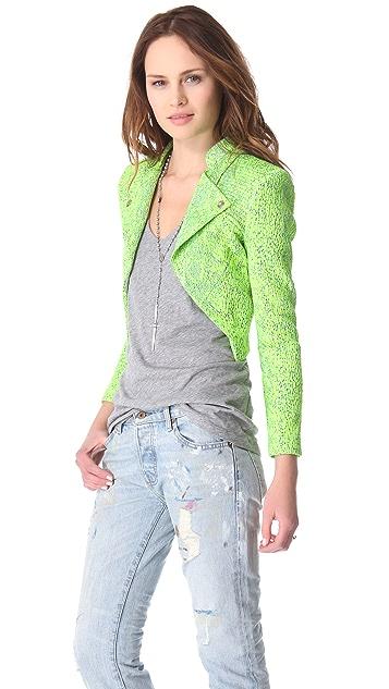 Faith Connexion Fluoro Reptile Brocade Jacket