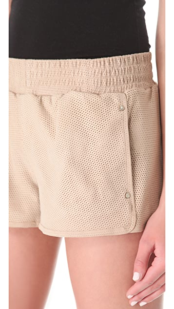Faith Connexion Suede Shorts